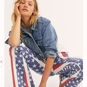 Free People penny pull on flare, 26